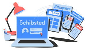 What is a Schibsted account?