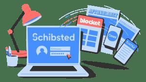 Vad är ett Schibsted-konto?
